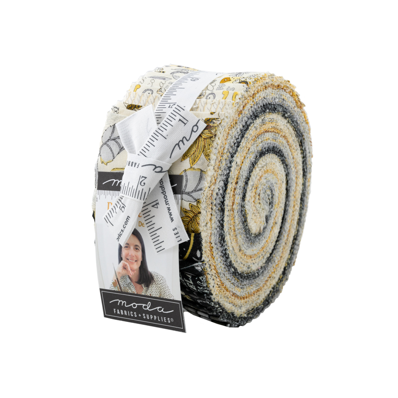 Bee Grateful Jelly Roll by Deb Strain