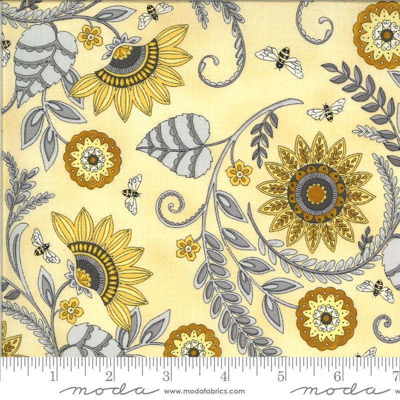 Bee Grateful Sunflower Garden Honey Yellow