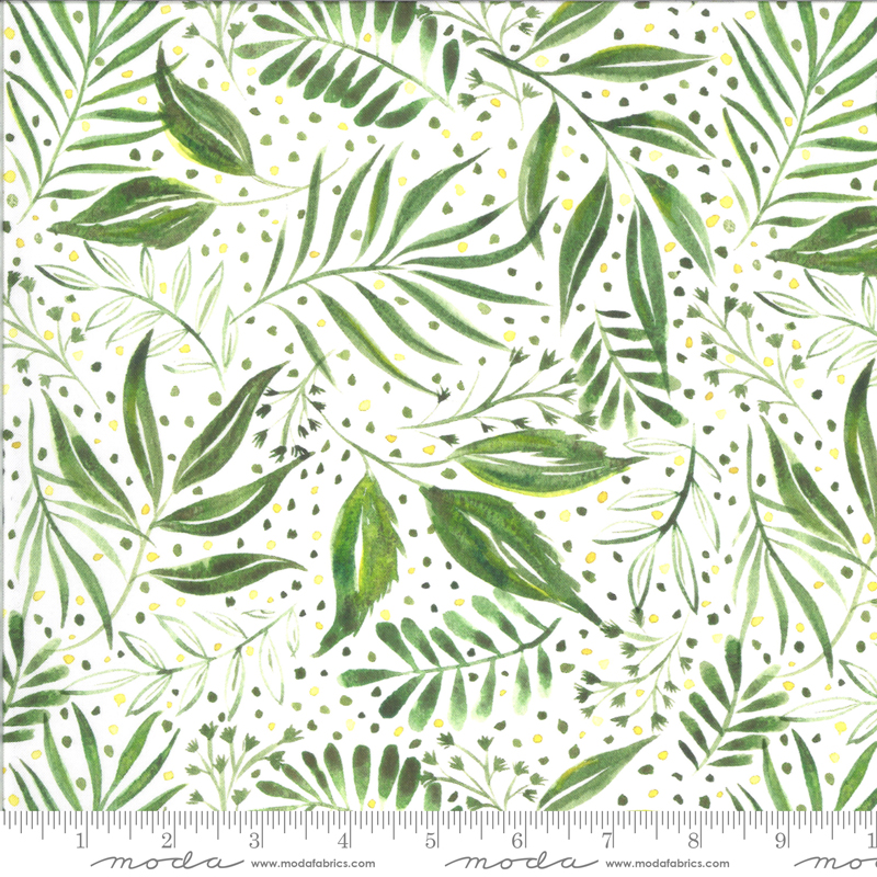 8445 11D Moody Bloom Digital Breezy Botanical Jungle by the Create Joy Project for Moda