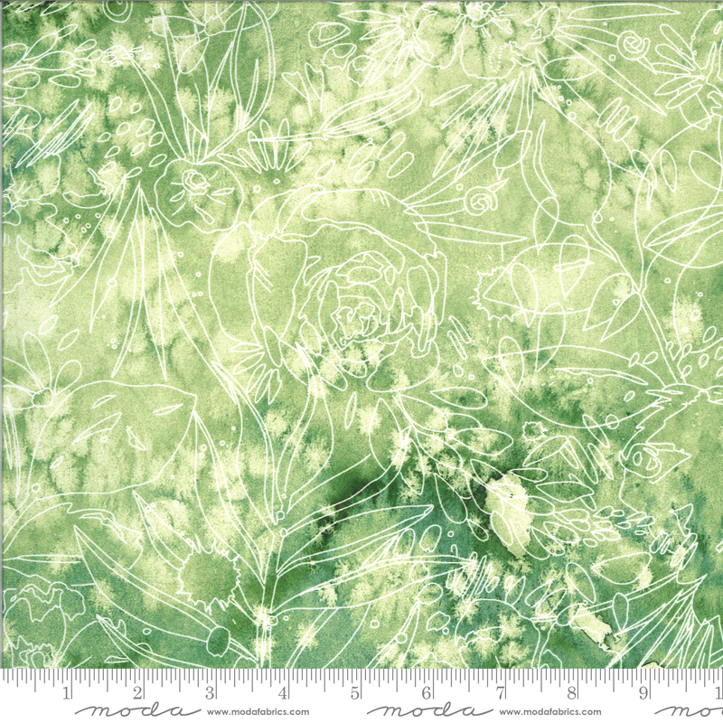 8447 14D Moody Bloom Digital Her Garden Jungle by the Create Joy Project for Moda