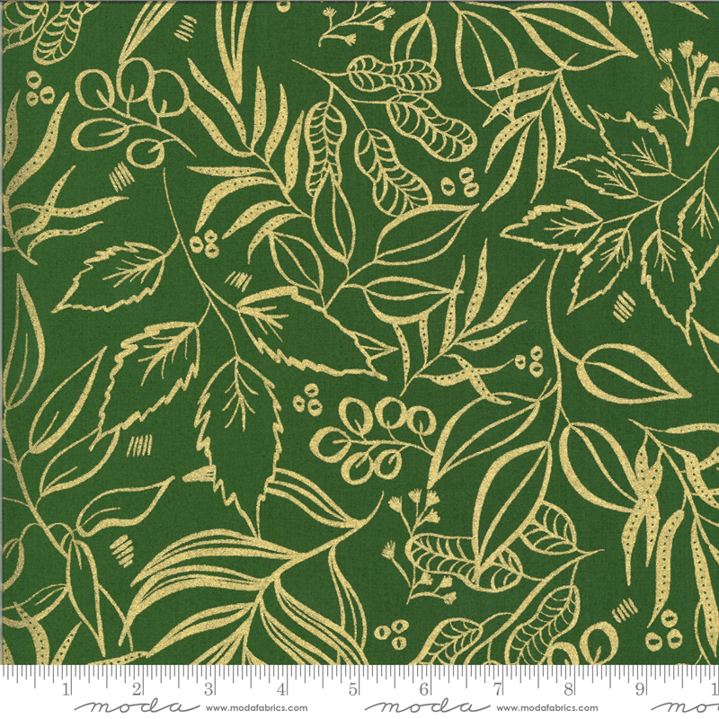 Moody Bloom Metallic Jungle (8449 37M) designed by Create Joy Project