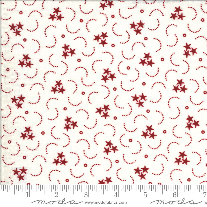 American Gathering Cream Red 49128 11