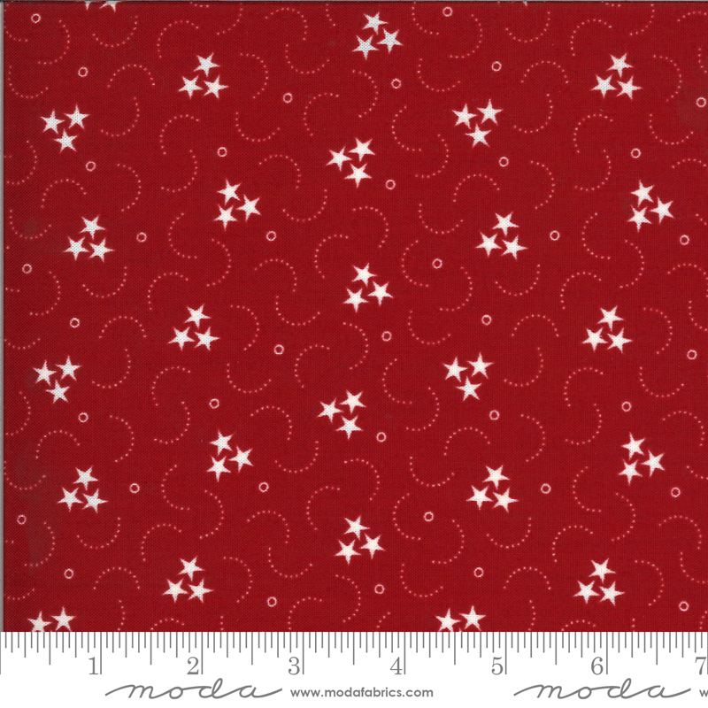 American Gathering Red Grouped Stars