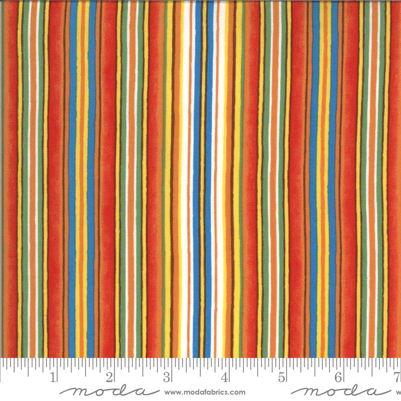Homegrown Salsa Multi Blue Stripe