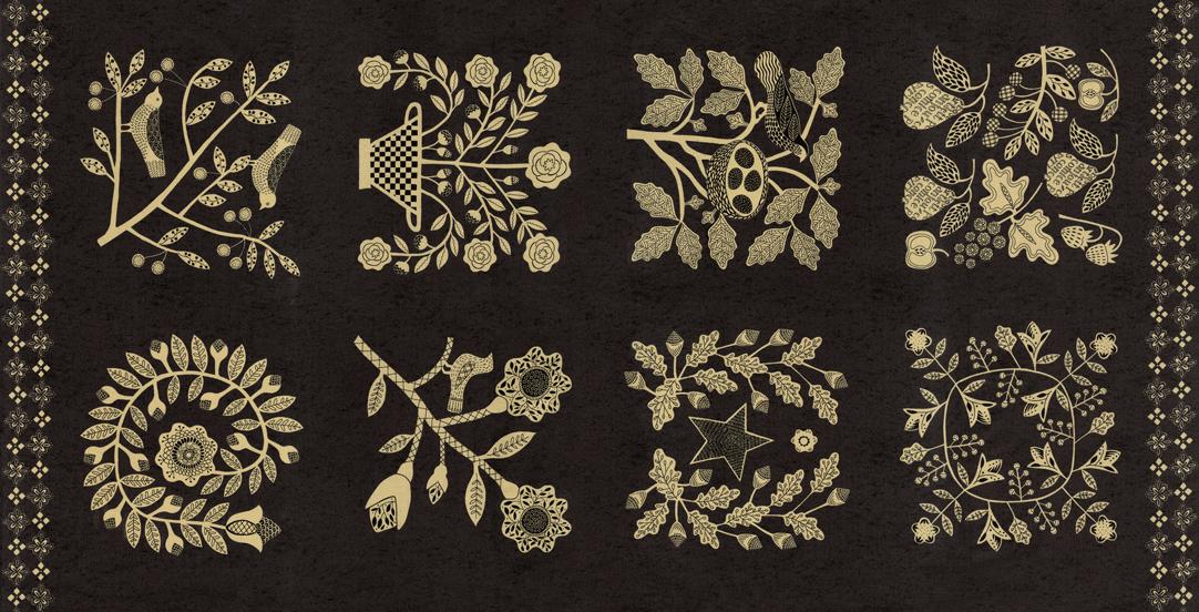 Fabric - Maryland 24 x 44 Nightfall 7030 17