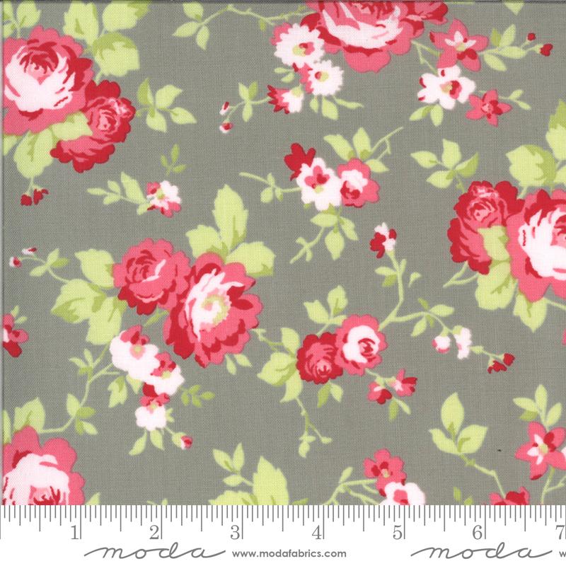 Sophie Main Floral Cobblestone