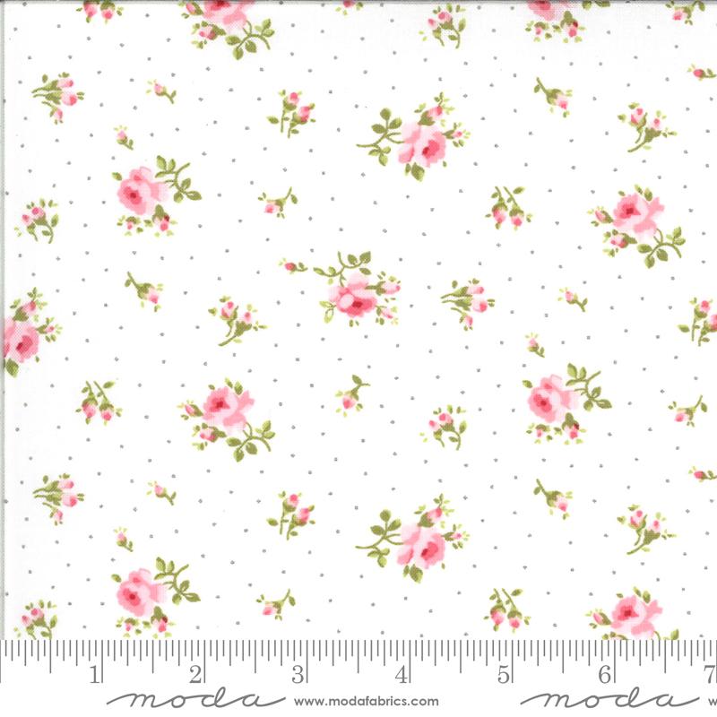 Sophie Medium Floral Linen