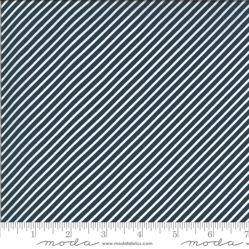 Happy Days Stripe Navy