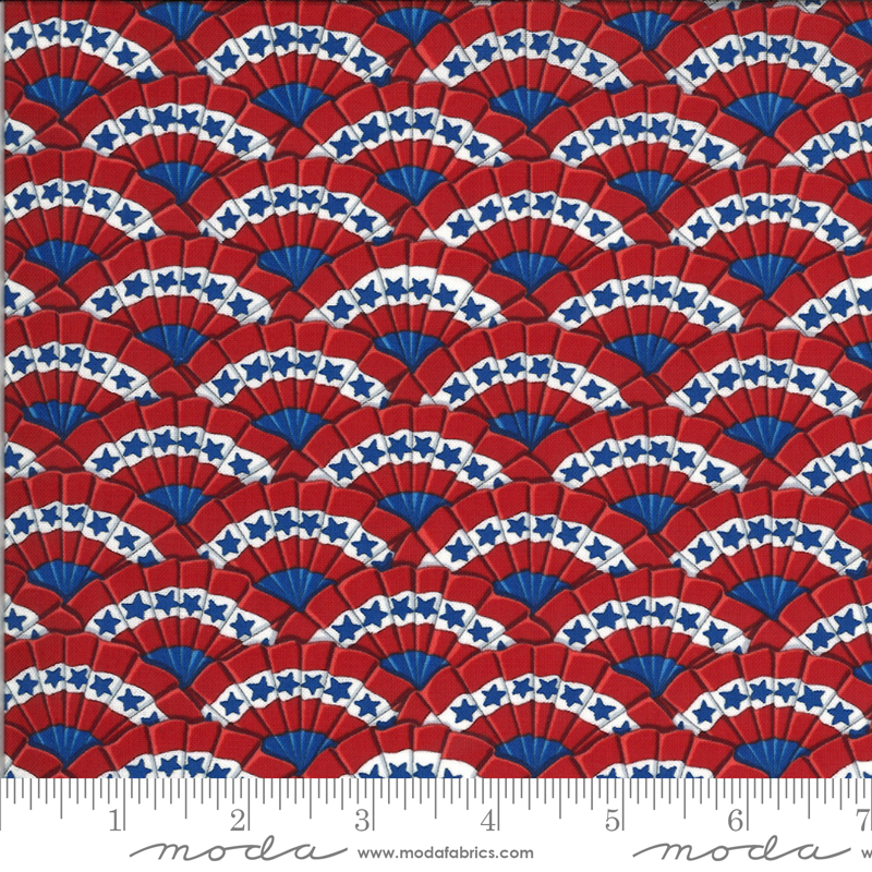 America Beautiful Barnwood Red (19984 11) designed by Deb Strain