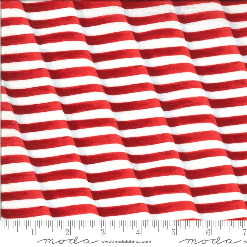 Moda, America The Beautiful, Weaving Stripes, Barnwood Red