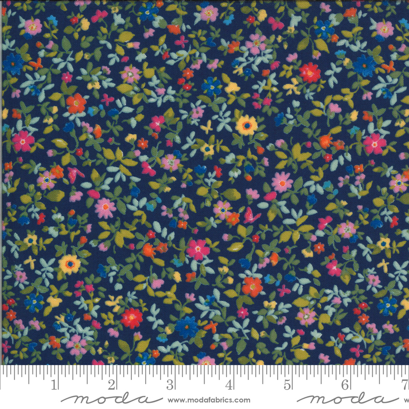 Lulu Packed Floral Navy 33584 11