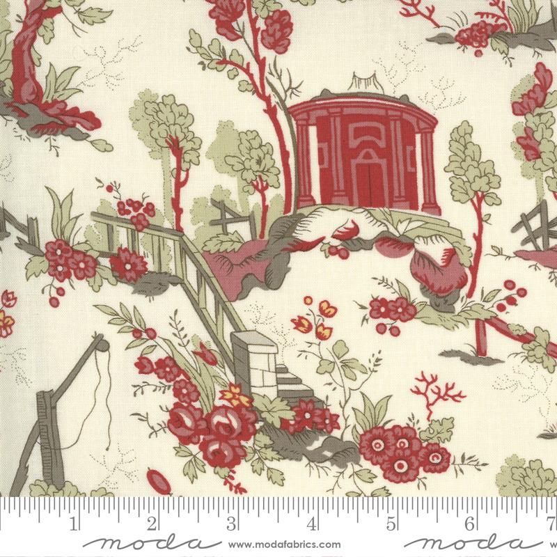 Fabric - Jardin De Fleurs Pearl 13890 15