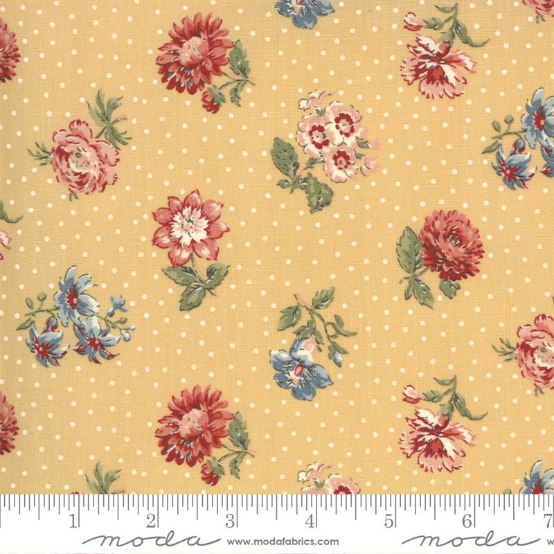 Fabric - Jardin De Fleurs Saffron 13893 15