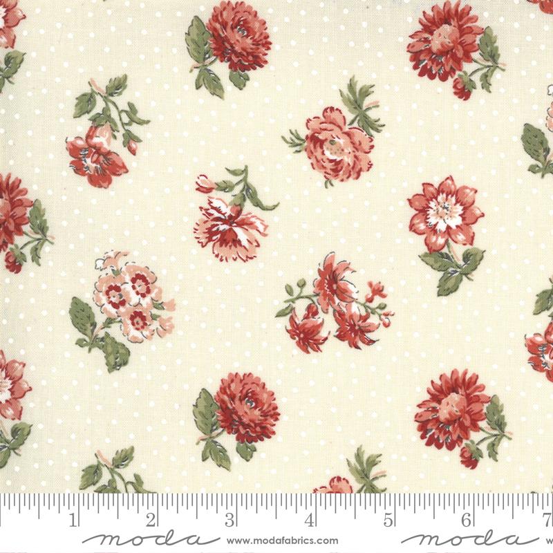 Fabric - Jardin De Fleurs Pearl 13893 18