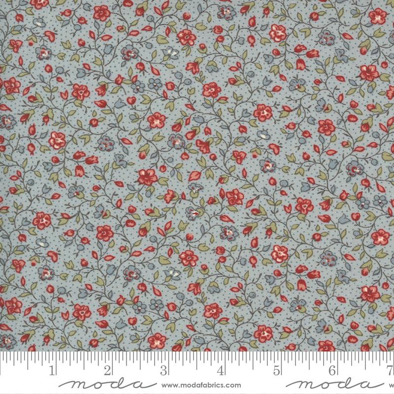 13895 16 Jardin De Fleurs Ciel Blue