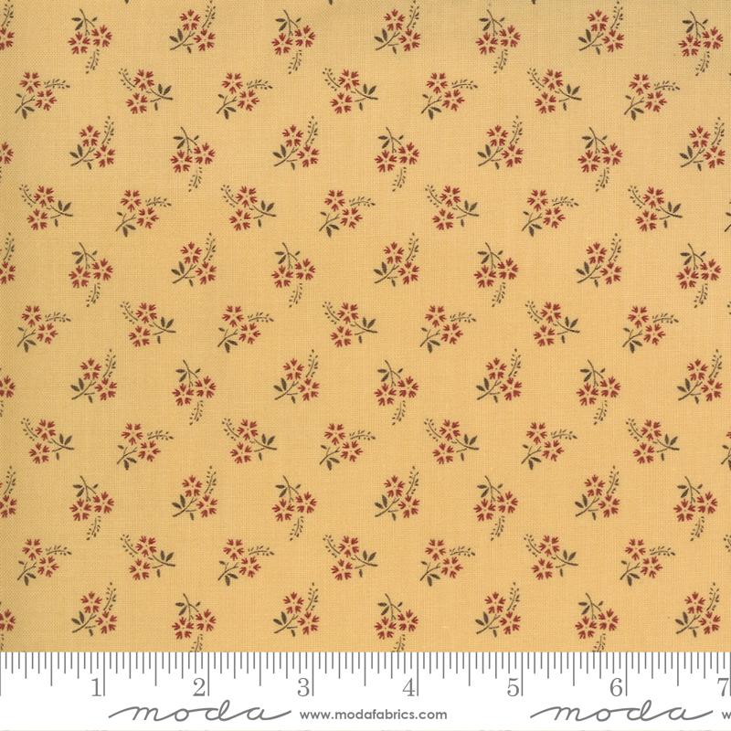 Moda Jardin De Fleurs Saffron 13897 16
