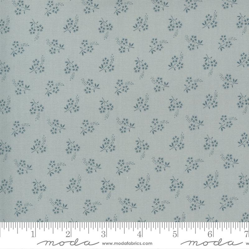 13897 19 Jardin De Fleurs Ciel Blue