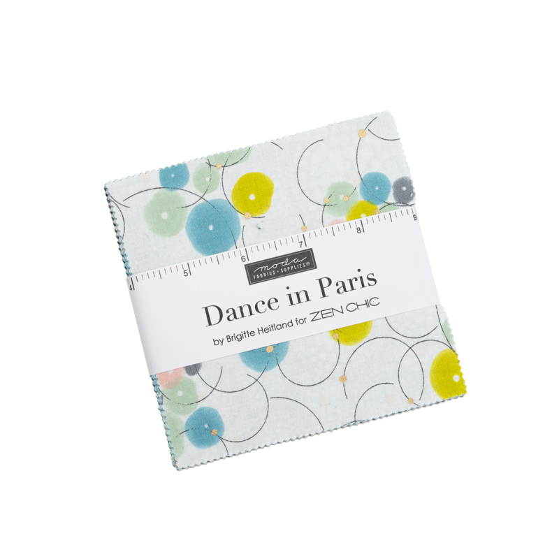 Moda Dance In Paris by Zen Chic Charm Pack 1740PM