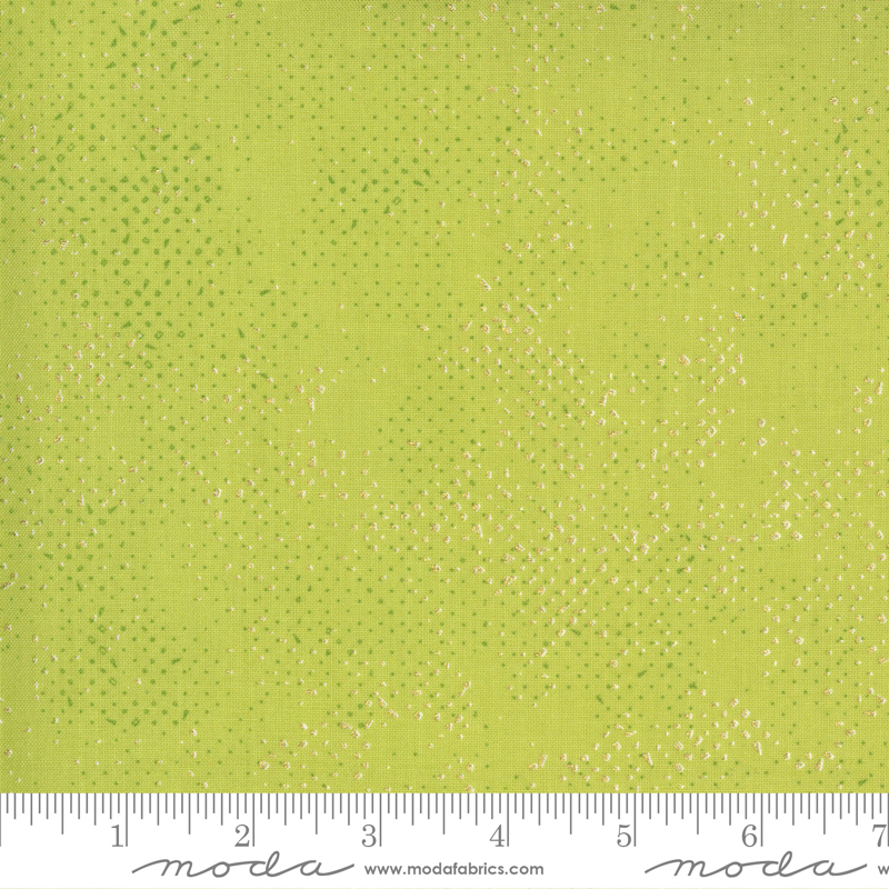 Pre-order: Dance In Paris by Zen Chic - Spotted Chartreuse