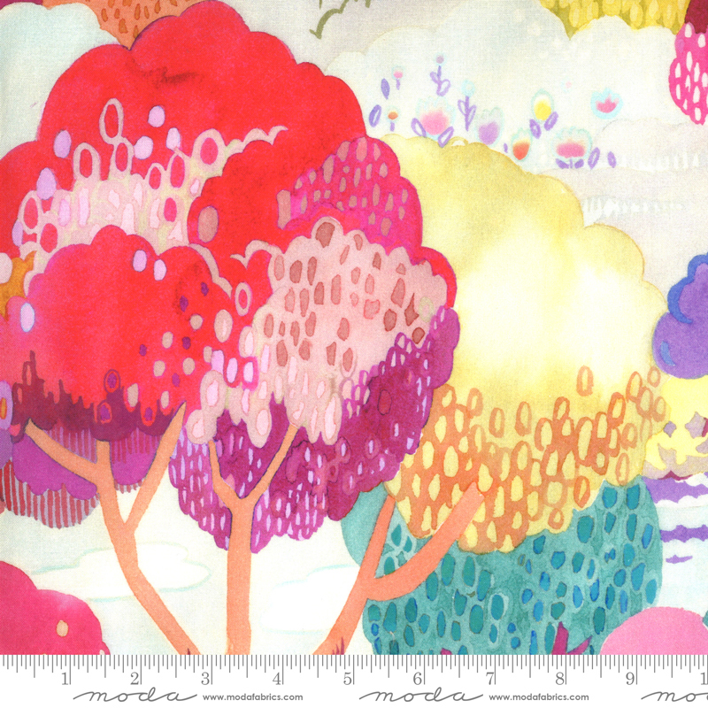 Fanciful Forest Large Trees multi petal