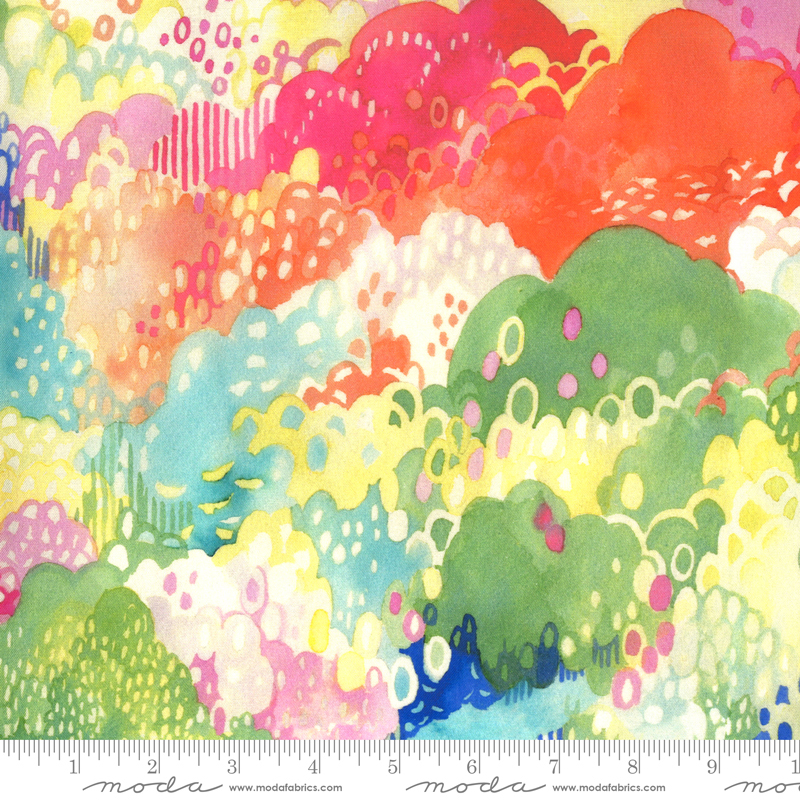 Fanciful Forest Treetops multi