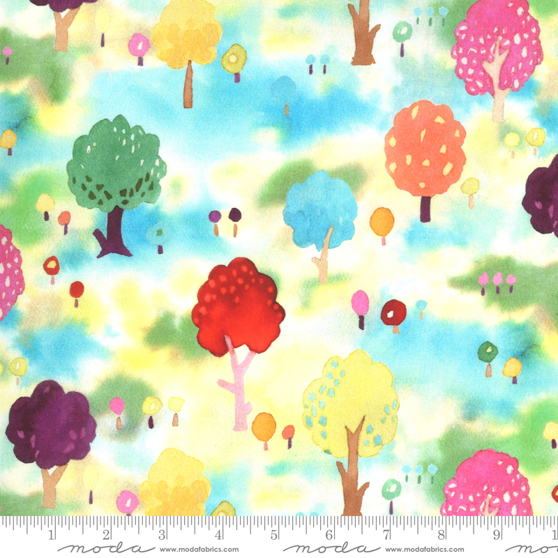 Fanciful Forest Medium Trees multi