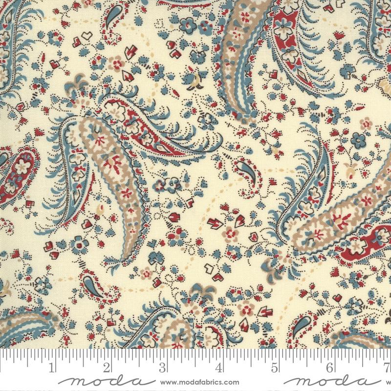 Fabric - Ladies Legacy Engravers Ivory