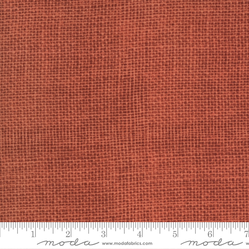 Moda - Home On The Range - Burlap Solid Texture/Clay Red - 19948 22