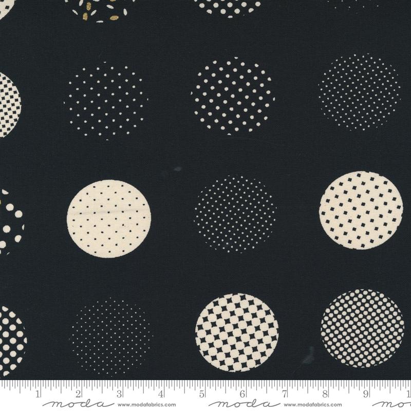 Sew Happy Canvas Black