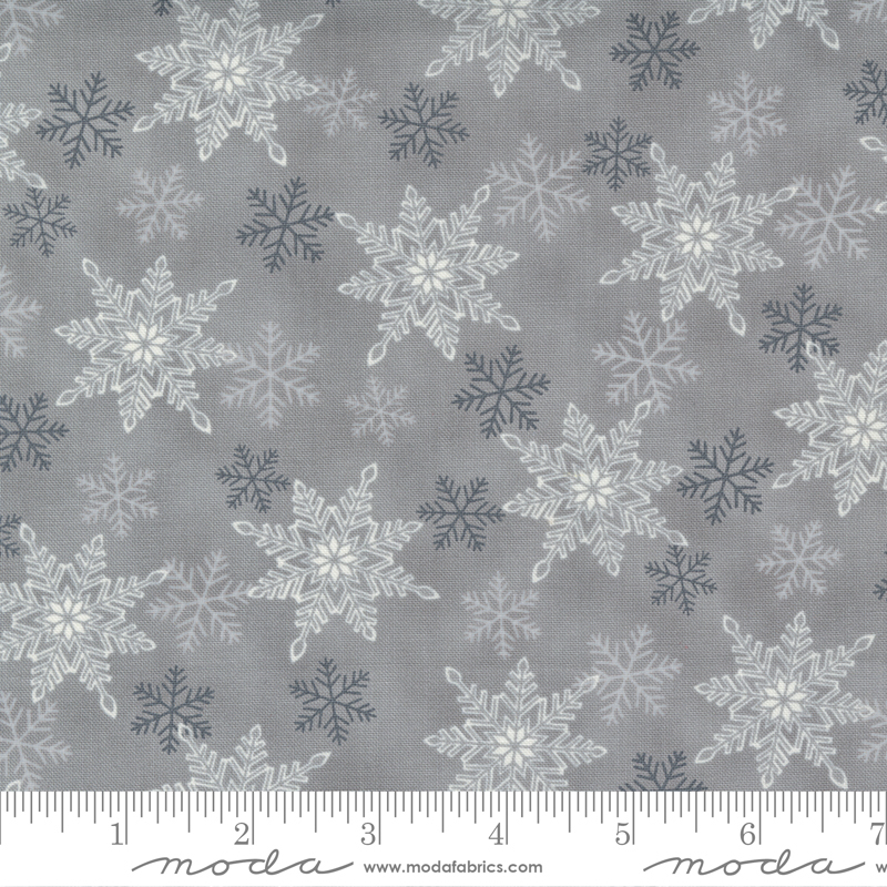 Home Sweet Holidays - Snowflake Swirl Grey