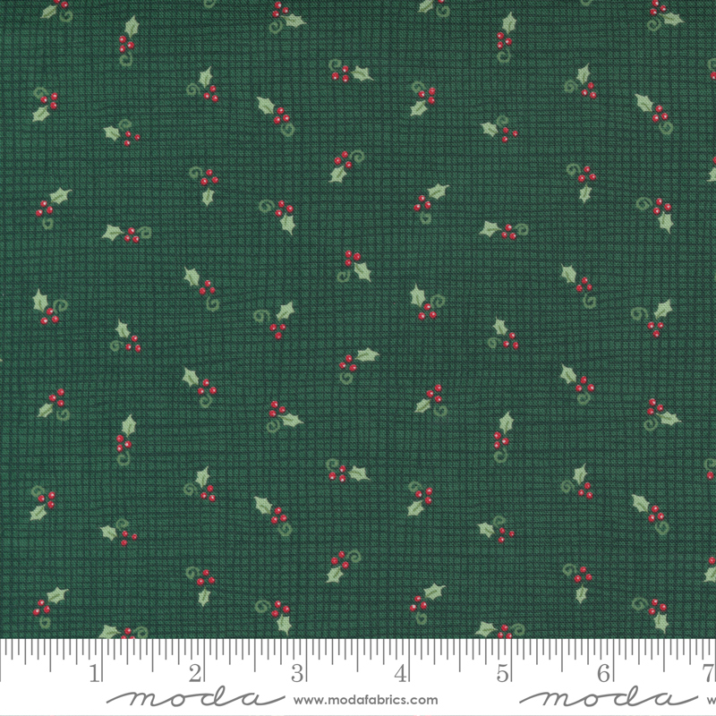 Home Sweet Holidays - Burlap And Holly Green