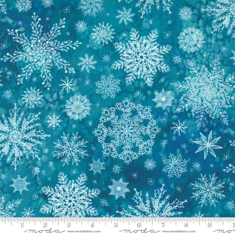 Starflower Christmas Teal