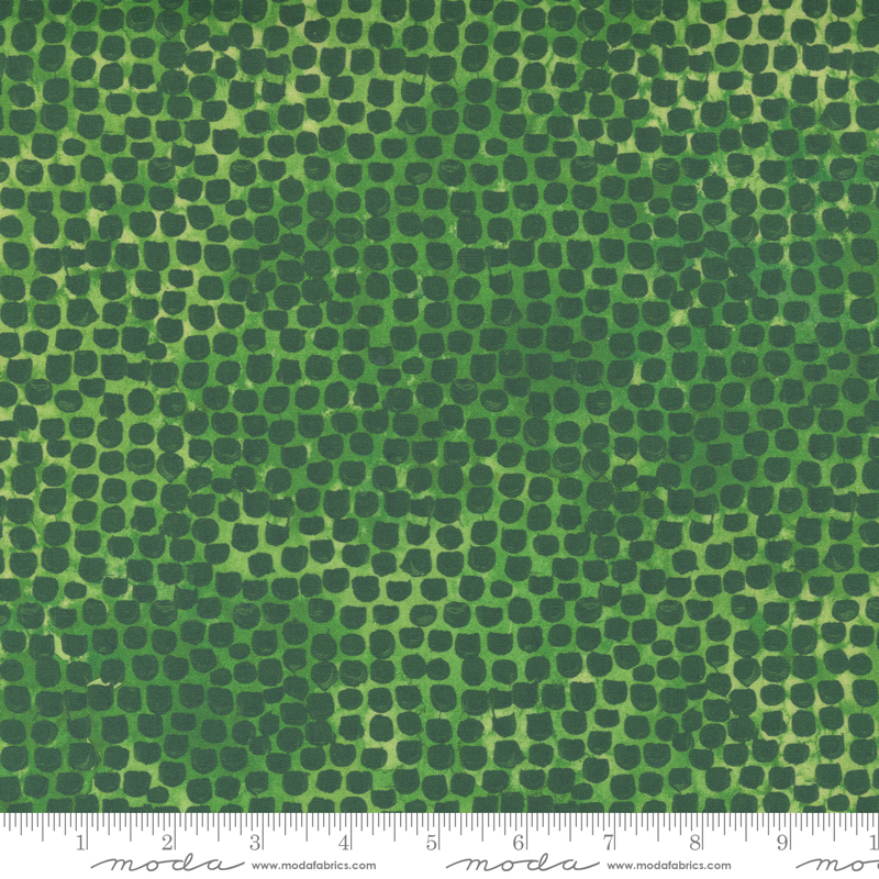 8485 20 Starflower Christmas Green