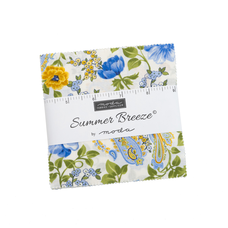Summer Breeze Charm Pack 5 Squares