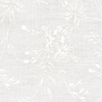 Muslin Mates Med Floral White