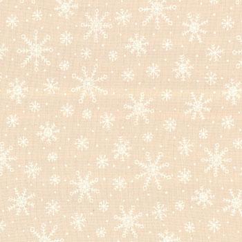 Muslin Mates - Snowflakes Natural