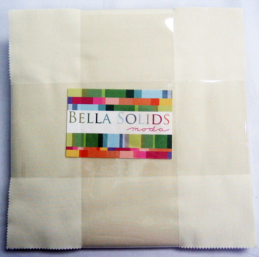 Bella Solids Layer Cake Snow