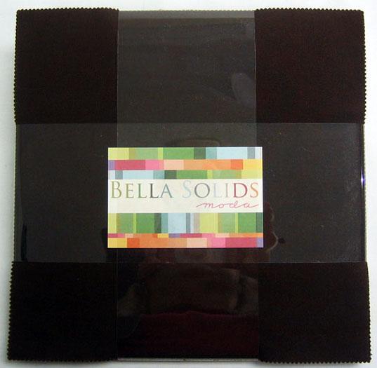 Bella Solids Layer Cake Brown 9900LC 71