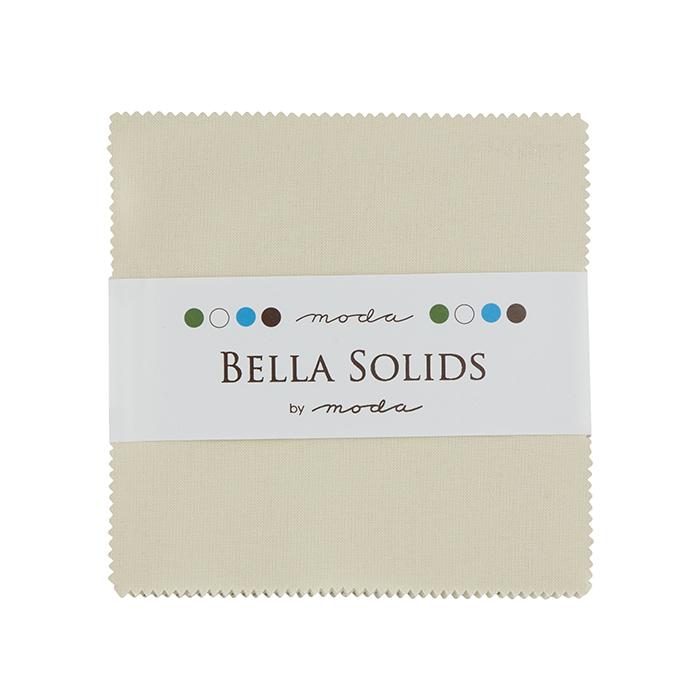 Bella Solids Charm Pack Natural 9900PP 12