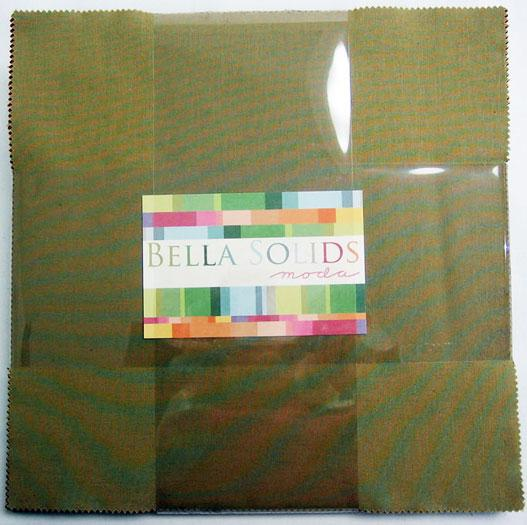 Bella Solids Layer Cake Darks