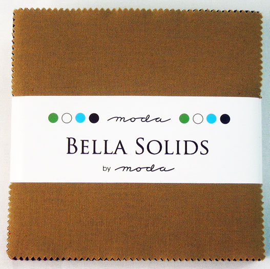 Bella Solids Charm Pack Darks