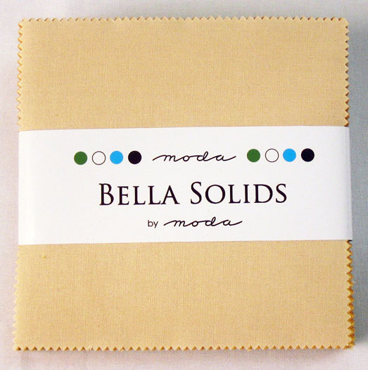 Bella Solids Charm Pack Warm