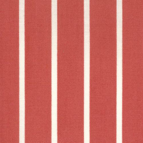 Charlevoix Cherry and White Stripe