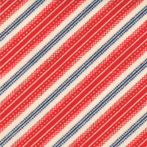 Moda - Minick & Simpson - American Banner Rose - 14728 11