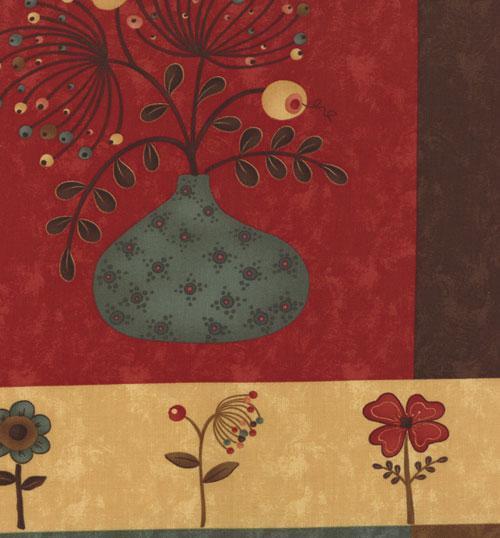 Item#5433.C - Late Bloomers Panel - Moda - Sandy Gervais