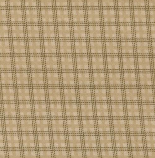 Wool Needle Window Pane Aged Ta