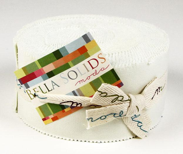 Bella Solids Jelly Roll Porcelain