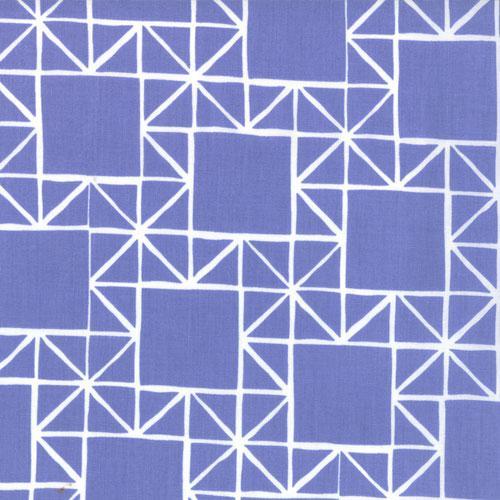Quilt Blocks Shade Periwinkle