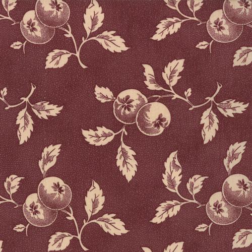 *Farmers Market Plum apples and leaves on plum
