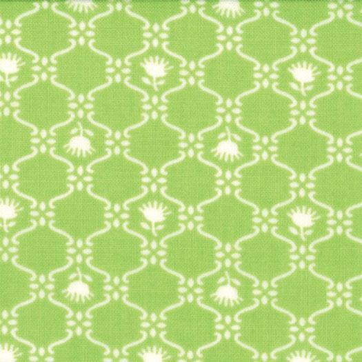 GLAMPING SPRING GREEN MOTIF 1160513 Moda